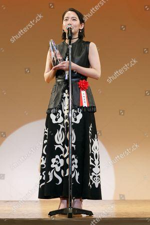 Editorial image of Elan d'Or Award Ceremony, Tokyo, Japan - 01 Feb 2018