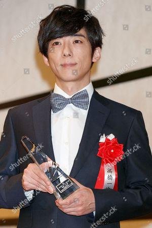 Stock Image of Japanese actor Issei Takahashi