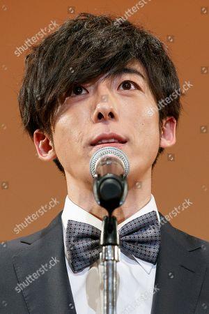 Japanese actor Issei Takahashi speaks