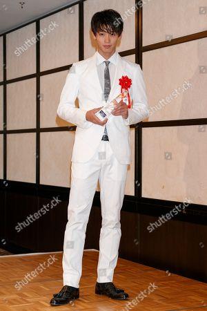 Japanese actor Ryoma Takeuchi