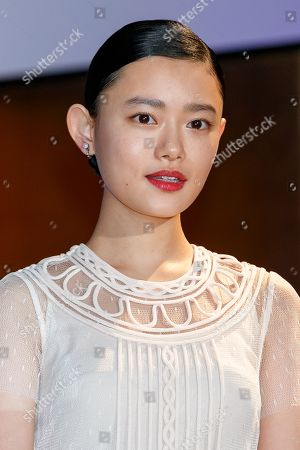 Stock Picture of Japanese actress Hana Sugisaki