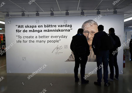 Editorial photo of Reaction to the death of IKEA founder Ingvar Kamprad, Sweden - 02 Feb 2018