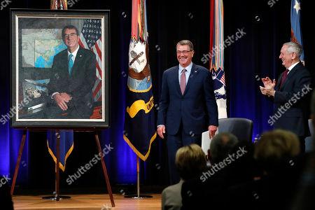 Editorial image of Pentagon Mattis, Washington, USA - 02 Feb 2018