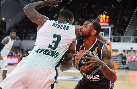 Editorial picture of Brose Bamberg vs Panathinaikos Superfoods Athens, Germany - 02 Feb 2018