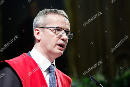 Stock Photo of Luc Sels - rector