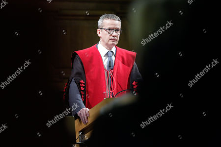 Stock Image of Luc Sels - rector