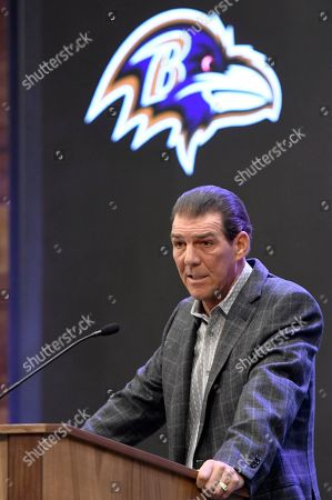 Editorial picture of Ravens Bisciotti Football, Owings Mills, USA - 02 Feb 2018
