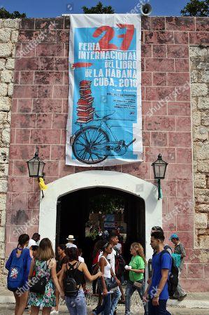 Editorial photo of XXVII International Book Fair of Havana, La Habana, Cuba - 02 Feb 2018