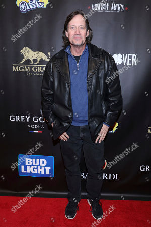 Kevin Sorbo arrives at the 15th Annual Leather and Laces Super Bowl Party, in Minneapolis