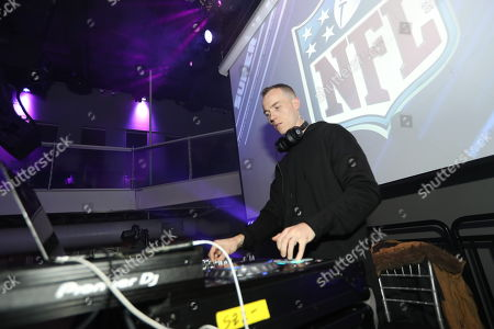 DJ Skee performs at the NFLN Super Bowl LII media party, in Minneapolis