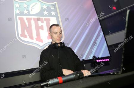 Editorial photo of NFLN Super Bowl LII Media Party, Minneapolis, USA - 02 Feb 2018