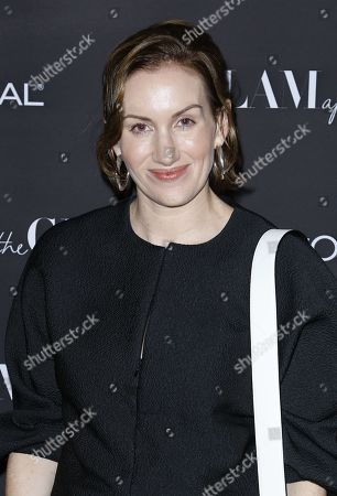 Katherine Power attends the Celebration of The Glam App's Re-launch at The Jeremy hotel, in West Hollywood, Calif