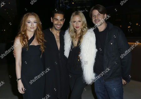 Katrina Barton, Rachel Zoe, Joey Maalouf, Rodger Berman. Katrina Barton, from left, Joey Maalouf, Rachel Zoe and Rodger Berman attend the Celebration of The Glam App's Re-launch at The Jeremy hotel, in West Hollywood, Calif