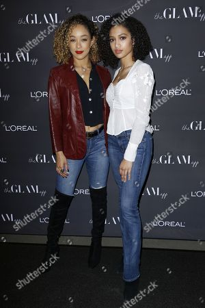 Chaley Rose Samantha Logan. Chaley Rose, left, and Samantha Logan attend the Celebration of The Glam App's Re-launch at The Jeremy hotel, in West Hollywood, Calif