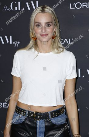 Katie Nehra attends the Celebration of The Glam App's Re-launch at The Jeremy hotel, in West Hollywood, Calif