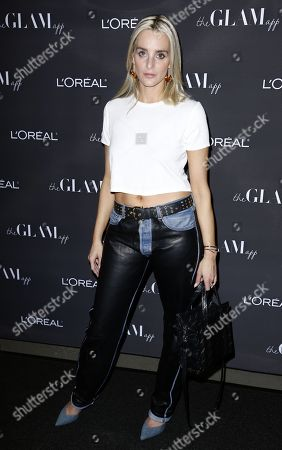 Stock Image of Katie Nehra attends the Celebration of The Glam App's Re-launch at The Jeremy hotel, in West Hollywood, Calif