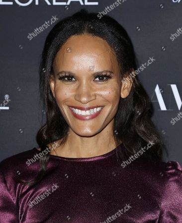 Stock Picture of Amanda Luttrell Garrigus attends the Celebration of The Glam App's Re-launch at The Jeremy hotel, in West Hollywood, Calif