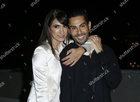 Mandana Dayani, Joey Maalouf. Mandana Dayani, left, and Joey Maalouf attend the Celebration of The Glam App's Re-launch at The Jeremy hotel, in West Hollywood, Calif