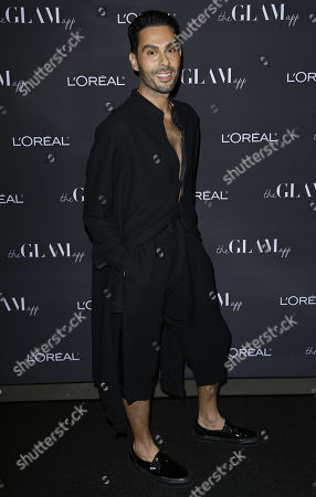CEO at The Glam App Joey Maalouf attends the Celebration of The Glam App's Re-launch at The Jeremy hotel, in West Hollywood, Calif