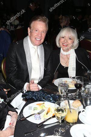 Wink Martindale and Sandy Ferra