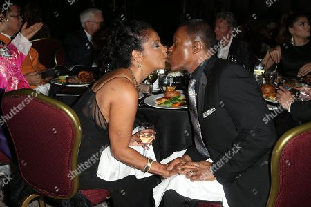 Stock Image of Dionne Lea Williams and Keith David