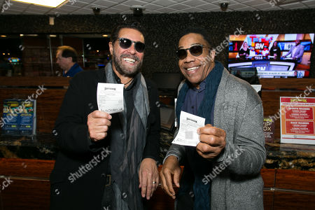 Stock Picture of Clint Holmes and Earl Turner