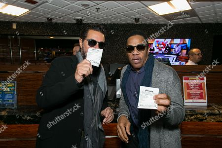 Stock Image of Clint Holmes and Earl Turner