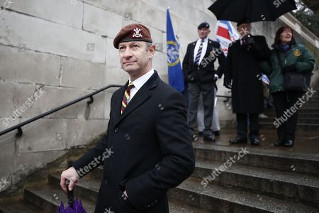 e41fc33e29c UKIP Leader Henry Bolton is surrounded by photographers as he takes part in  the Veterans for