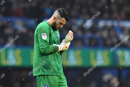 Stephen Henderson (13) of Portsmouth during the EFL Sky Bet League 1 match between Portsmouth and Doncaster Rovers at Fratton Park, Portsmouth. Picture by Graham Hunt