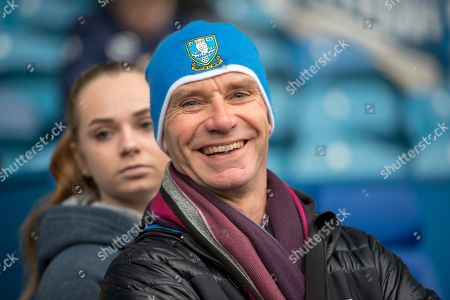 Shefffield Wednesday fan Steve Ellis during the EFL Sky Bet Championship match between Sheffield Wednesday and Birmingham City at Hillsborough, Sheffield. Picture by Craig Zadoroznyj