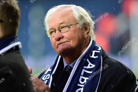 Former manager Ron Atkinson during the Premier League match between West Bromwich Albion and Southampton at The Hawthorns, West Bromwich. Picture by Dennis Goodwin
