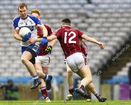 Multyfarnham vs Knocknagree. Knocknagree's Kealan Buckley in action against Multyfarnham's Ciaran Madden