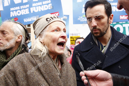 Vivienne Westwood and Ralf Little
