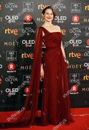 Editorial picture of 32nd Goya Awards in Madrid, Spain - 03 Feb 2018