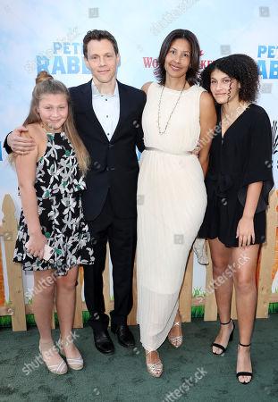 Taryn Gluck, Will Gluck, Trista Gladden and Lexi Gluck