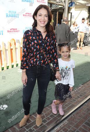 Marla Sokoloff and daughter Elliotte Puro