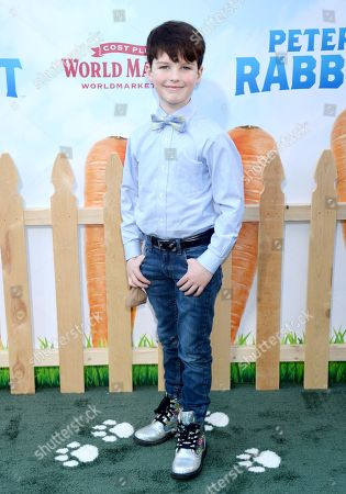 Stock Picture of Iain Armitage