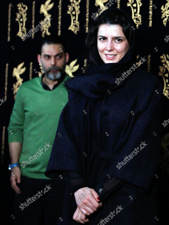 Stock Picture of Leila Hatami and Peyman Moaadi