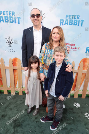 Rob Lieber, Writer/Executive Producer, and family