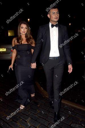 Abigail Clarke and Junaid Ahmed