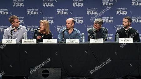 Stock Photo of Graham Broadbent, Lisa Bruce, J. Miles Dale, Daniel Lupi and Sean McKittrick
