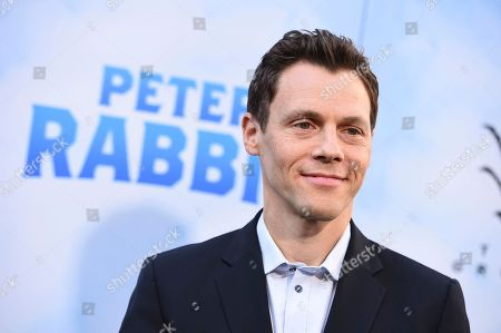 """Will Gluck arrives at the world premiere of """"Peter Rabbit"""" at The Grove on in Los Angeles"""