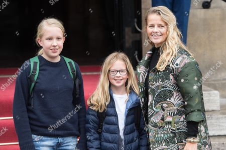 Stock Picture of Princess Mabel, Countess Luana and Countess Zaria