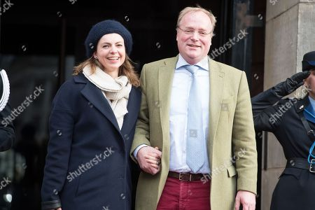 Prince Carlos of Bourbon-Parma and Princess Annemarie