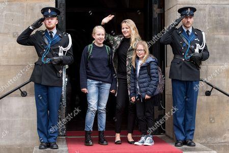Editorial image of Princess Beatrix 80th birthday, Royal Palace, Amsterdam, The Netherlands - 03 Feb 2018