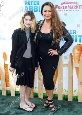 Tia Carrere and daughter Bianca Wakelin