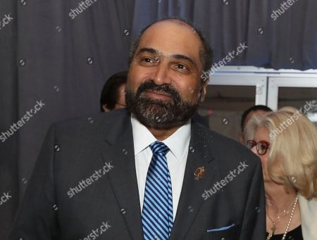 Former NFL player Franco Harris of the Pittsburgh Steelers and Seattle Seahawks attends the 7th Annual NFL Honors at the Cyrus Northrop Memorial Auditorium, in Minneapolis, Minnesota