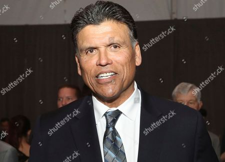 Former NFL player Anthony Munoz attends the 7th Annual NFL Honors at the Cyrus Northrop Memorial Auditorium, in Minneapolis, Minnesota