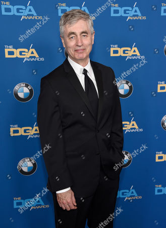 Steve James arrives at the 70th annual Directors Guild of America Awards at The Beverly Hilton hotel, in Beverly Hills, Calif
