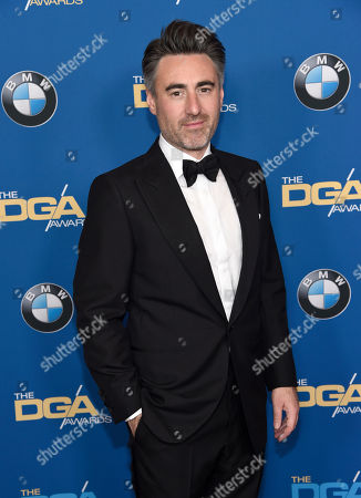 William Oldroyd arrives at the 70th annual Directors Guild of America Awards at The Beverly Hilton hotel, in Beverly Hills, Calif